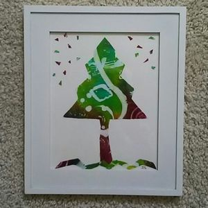 "My original art, ""Bright Tree"""